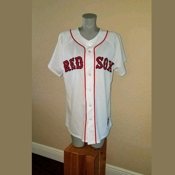 43dc0962e01 Majestic Tops - Boston Red Sox Majestic Jersey Mom 01